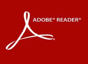 Adobe Reader - image