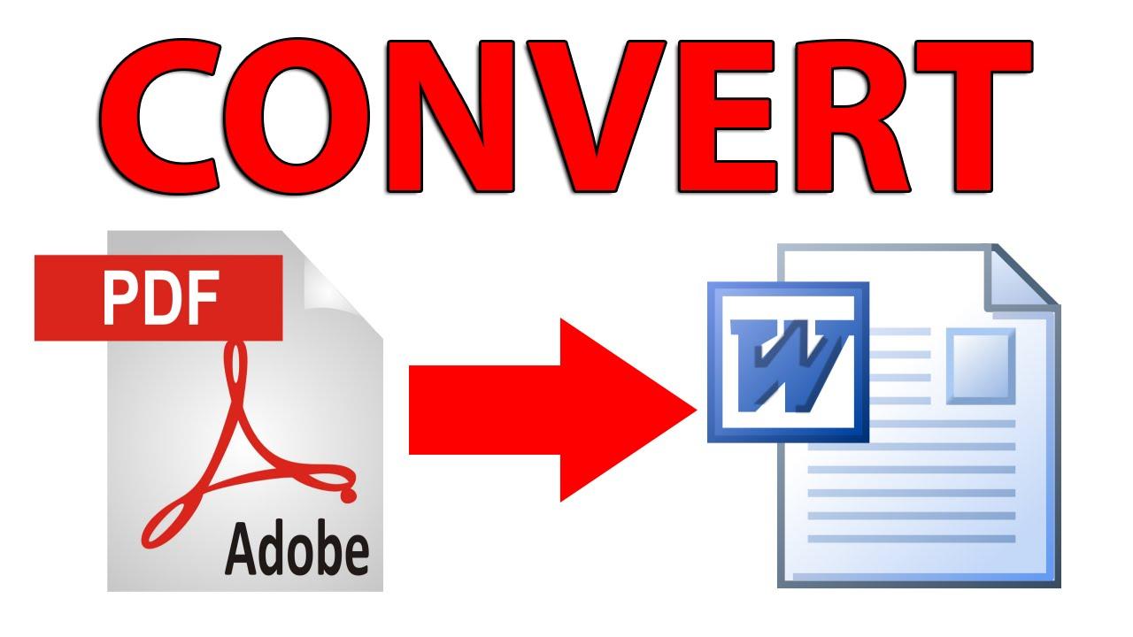 Comment convertir un document PDF en document Word ?